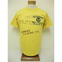 BuzzRickson's[バズリクソンズ] Tシャツ U.S.ARMY AIR FORCES (YELLOW)