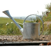 Burgon & Ball | GTW/W9 ブリキジョウロ 9L Waterfall Watering Can - Galvanised | バーゴン&ボール