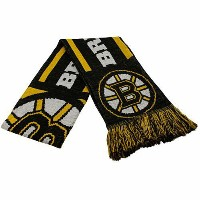 NHL チームマフラー ブルーインズ Boston Bruins Team Stripe Scarf