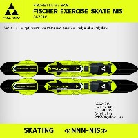 25%OFF【フィッシャー】FISCHER EXERCISE SKATE NIS YELLOW [S57812]