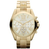 Michael Kors マイケルコース 腕時計 Watches MK5722-GOLDHORN Bradshaw (Gold and Horn)