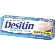 Desitin Rapid Relief Creamy Ointment 120 ml Tubes (並行輸入品)