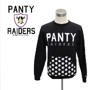 PANTY RAIDERS パンティレイダース PANTY USA WITH 3M REFLECTIVE CRW SWEATER 送料無料