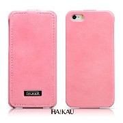 iCARER iPhoneSE / iPhone5S / iPhone5 レザーケース 上質な本革 ブックタイプ 縦開き ハンドメイド Leather Case for iPhone SE/5S...
