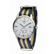 Junkers ユンカース メンズ腕時計 Watches Men's Quartz Watch 6C34-1 with Textile Strap