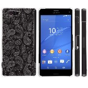 Highend berry Xperia Z3 Compact docomo SO-02G エクスぺリア Z3 コンパクト ポリカーボネート ハード ケース ペイズリー ク...