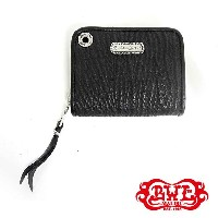 【BWL】Bill Wall Leather ビルウォールレザー【BWL上野限定】ウエーブシリンダープレート/SMALL COIN ZIP WALLET SHARKw/HOLE/WAVE...