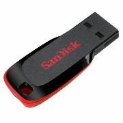 ◇ 【8GB】 SanDisk/サンディスク USB Flash Drive Cruzer Blade USBメモリー 海外リテール SDCZ50-008G-B35 ◆メ