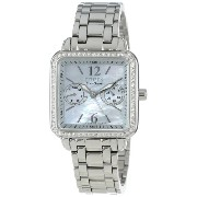 "Citizen シチズン レディース腕時計 Women's FD1040-52D Eco-Drive ""Silhouette"" Stainless Steel Swarovski Crystal-Accented Watch"