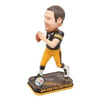 NFL スティーラーズ ベン・ロスリスバーガー SPLINGY LOGO BASE BOBBLE Forever Collectibles