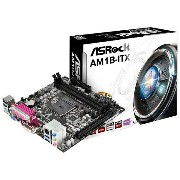 ASROCK Mini ITXマザーボード [Scoket AM1・DDR3] AM1B-ITX[AM1BITX]