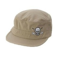 【SALE】TATTOO GOLF タトゥーゴルフ MILITARY STYLE GOLF HAT (KHAKI)