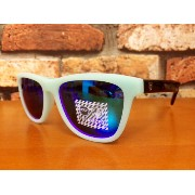 recs GINGA s57-05 (EMERALD/BLACK×REVO BLUE-WHITE MIRROR) 〜レックス サングラス ギンガ〜