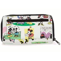 Disney(ディズニー)Mickey and Minnie Mouse Comic Strip Walletミッキー&ミニー 財布