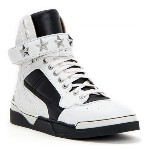 GIVENCHY☆Tyson High Top Sneakers Black and white