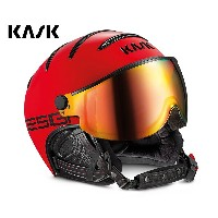 '16KASK(カスク)ゴーグル付ヘルメット「ヘルメットバイザーCLASS Montecarloモンテカルロ」RED(SHE00033.225)【全国送料...