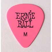 アーニーボール ピック Cellulose Acetate Nitrate Pick (Medium(0.72mm), Pink)
