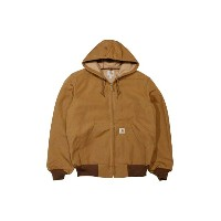Carhartt THERMAL LINED DUCK ACTIVE JACKET (J131/BROWN)カーハート/フードダックジャケット/茶色