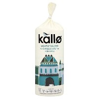 Kallo - Lightly Salted Rice Cakes - 130g