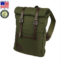 Duluth Pack ダルースパック Roll-Top Scout ロールトップ スカウト バックパック Olive Drab リュックサック デイパック ...