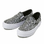 キッズ 【VANS】 ヴァンズ SLIP ON THICK スリッポン シック V98CJ THICK R/B 16SP BLACK/WHITE