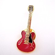 ES-335 ギター チェリーレッド ミニピン 二個セット 335 Cherry Red Guitar Mini Pin