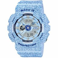 ■CASIO[カシオ] Baby-G【デニム[DENIM'D COLOR]】BA-110DC-2A3JF【楽ギフ_包装選択】【05P03Sep16】