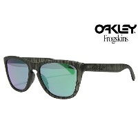 OAKLEY FROGSKINS SUNGLASSES 「URBAN JUNGLE COLLECTION」 OO9245-26 ASIAN FITMATTE OLIVE INK/JADE IRIDIUMオークリー フロッグスキン アー...