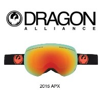 2015 DRAGON ドラゴン ゴーグル GOGGLE APX JET/RED ION+YELLOW BLUE ION