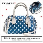 【COACH】BADLANDS FLORAL MINI BENNETT SATCHEL IN 花柄 F34898 Coach(コーチ)