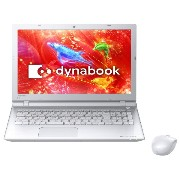 東芝 Toshiba dynabook T45/RWS cpu C3205U PT45RWS-SHA3 Windows8.1 64BIT Office H&B Pプラス Office365サービス ワイヤレスマウス(...