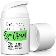 Body Merry Best Eye Cream For Dark Circles and Wrinkles - Reduces Puffiness, Crow's Feet, Fine Lines and Bags- Natural & Organic - Vitamin C, Jojoba Oil...