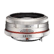Pentax K-Mount HD DA 70mm f/2.4 70-70mm フィックス レンズ for Pentax KAF Cameras (Limited Silver) (海外取寄せ品)
