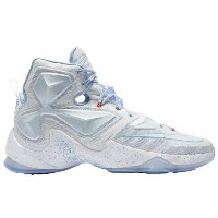Nike LeBron XIII 13 Summit White/Blue Tint/Light B Lue James, LeBron メンズ ナイキ バッシュ レブロンジェームス 白