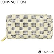 【LOUIS VUITTON/ルイ・ヴィトン】ダミエ・アズール ジッピー・ウォレット N60019 【中古】≪送料無料≫