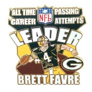 NFL パッカーズ ブレット・ファーブ NFL All Time Career Passing Attempts Leader PSG