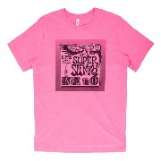 Ernie Ball T-shirt Super Slinky NEON PINK SMALL