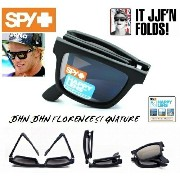 ★SPY★スパイ★THE FOLD【偏光】★JOHN JOHN FLORENCE★MATTE BLACK-HAPPY BRONZE POLAR/BLACK MIRROR★サングラス