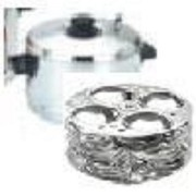 Premier Stainless Steel Cookware - Idly Maker (With 4 Plates) by Premier [並行輸入品]