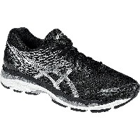 (取寄)アシックス メンズ Gel-Nimbus18 ランニングシューズ Asics Men's Gel-Nimbus 18 Running Shoe Black/Silver/Carbon