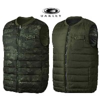 2016■OAKLEY REVERSIBLE ESCORT VEST■オークリー■HERB■