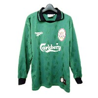 Reebok 「MADE IN UK」 LIVERPOOL FC Game shirt (リーボック リバプールFCゲームシャツ) Tシャツ vintage ヴィンテージ 055487 ...
