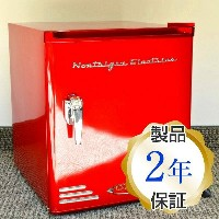 ノスタルジア コンパクト ミニ冷蔵庫 Nostalgia Electrics CRF170RETRORED Retro Series Mini Fridge【smtb-k】【kb】 【RCP】