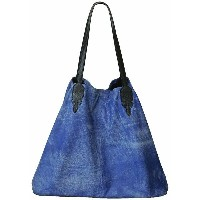 CHROME HEARTS TOTE BAG LUCILLE クロムハーツ トートバッグ LUCILLE BLUE BLEACH【あす楽】