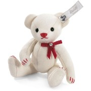 Steiff 035937 シュタイフ ぬいぐるみ テディベア Selection Felt White Teddy Bear Limited Edition of 2000