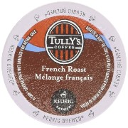 Keurig Tully's(タリーズ)KカップTully's Coffee K-Cup for Keurig Brewers 並行輸入品 (フレンチローストFrench Roast, 24カップ(24Count...