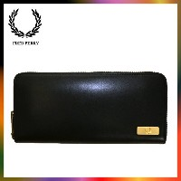 FRED PERRY フレッドペリー LEATHER PURSE F19710 ウォレット 財布