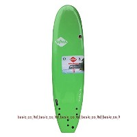 SOFTECH SURFBOARDS 7'0 Lime HAND SHAPED SOFTBOARD ソフテック サーフボード ソフトボード