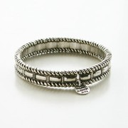【PHILIPPE AUDIBERT/フィリップオーディベール】Jeff bracelet Silver Color