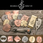 Seamus Golf Hand Forged Ball Marker (Set of 2)